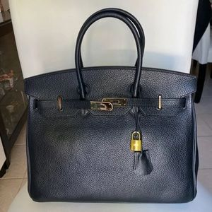 Black Tote/Top Handle Large